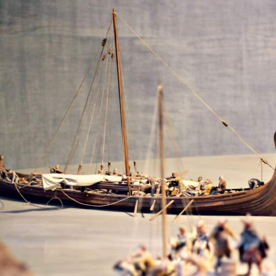 Szwecja z dziecmi - Muzeum Wikingow