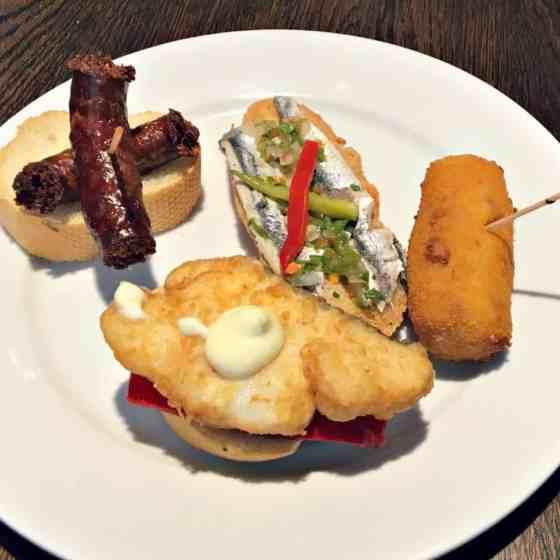 kuchnia baskijska - pintxos