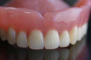 An upper denture