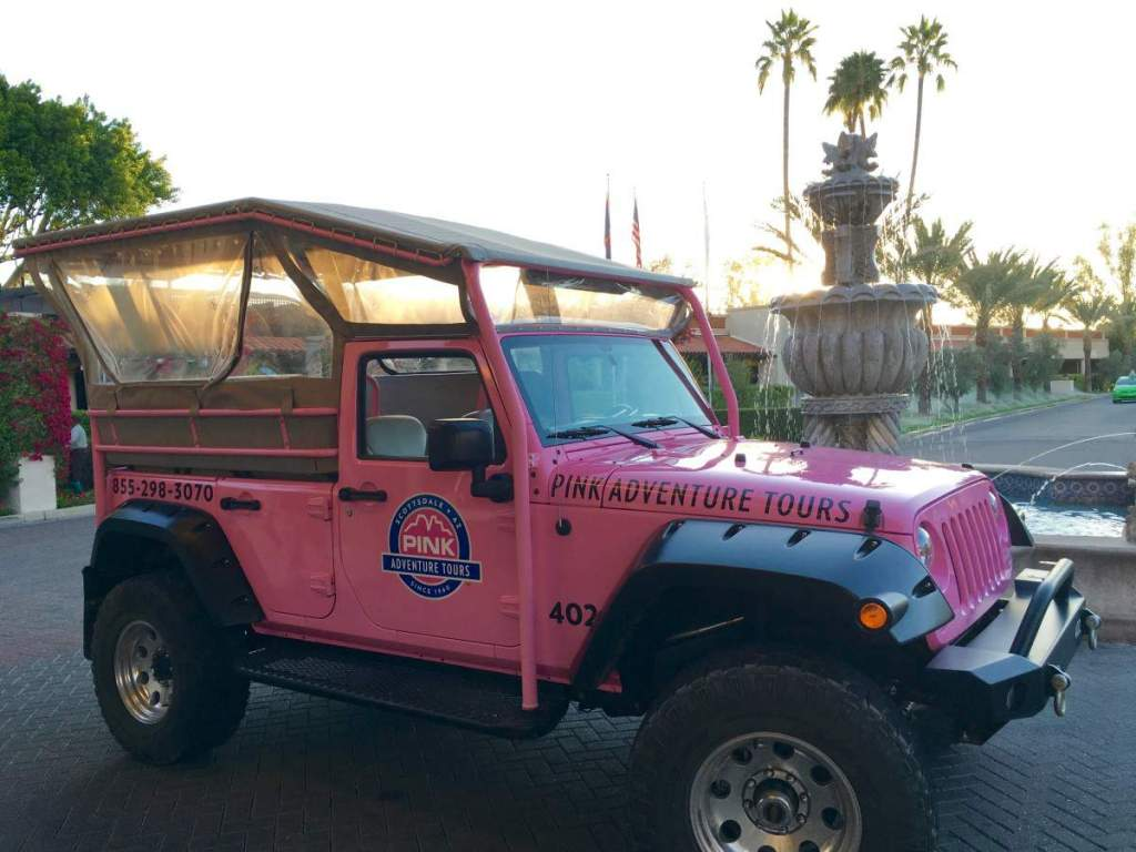 Best Family Activities in Phoenix Pink Jeep Tour-Kids Are A Trip