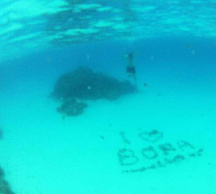 Snorkeling in Bora Bora-Kids Are A Trip