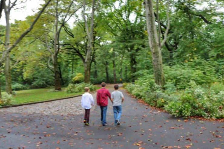 New-York-City-with-teens-Spring-Break-Central-Park-Kids Are A Trip