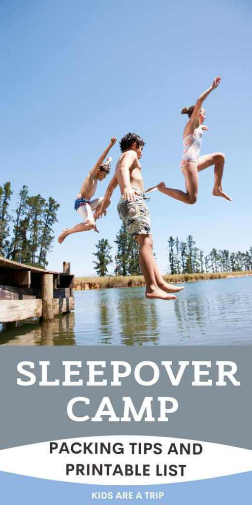 Sleepaway Camp Packing Tips and Packing List