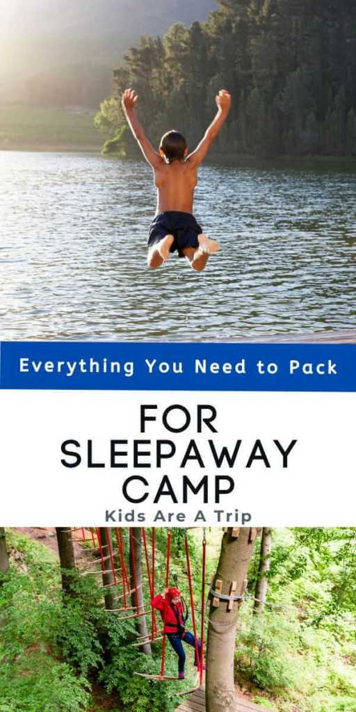 What to Pack for Sleepaway Camp-Kids Are A Trip