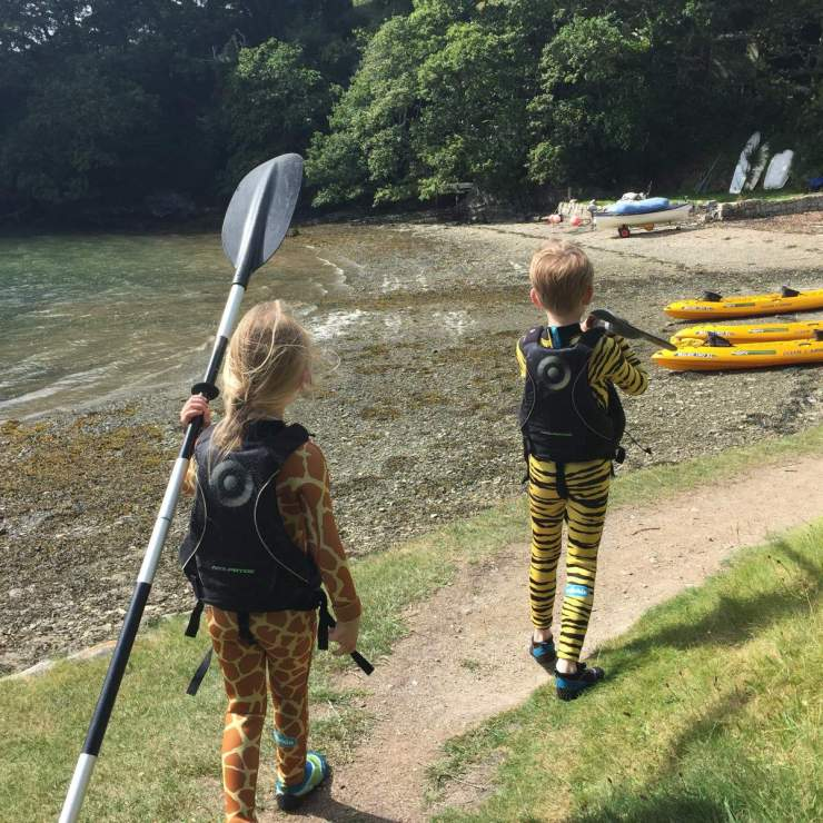 Koru Kayaking Cornwall-Kids Are A Trip