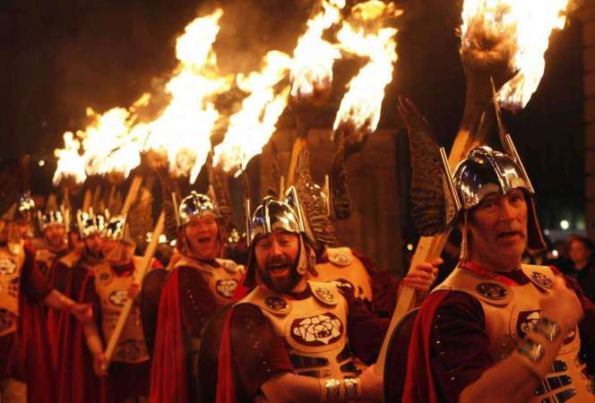 Hogmanay in Scotland Torchlight Procession-Kids Are A Trip