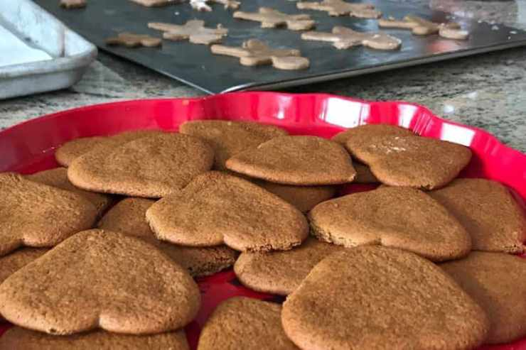 Swedish Christmas cookies pepparkakor - Kids Are a Trip
