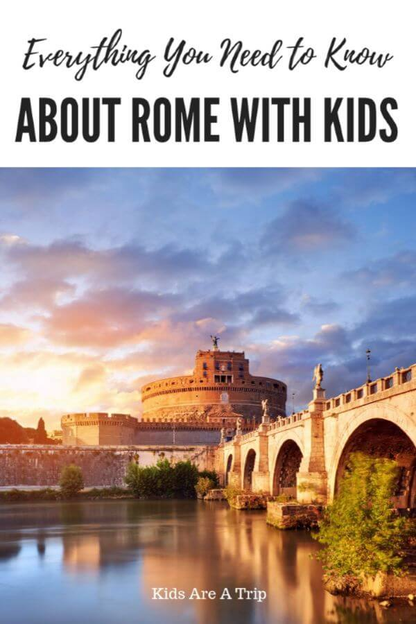 If you're looking for the best things to do in Rome with kids, you've come to the right place. We're sharing hotel recommendations, best tours in Rome, and where to eat in the Eternal City. - Kids Are A Trip