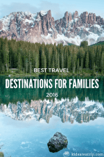 The Best Travel Destinations for Families in 2016