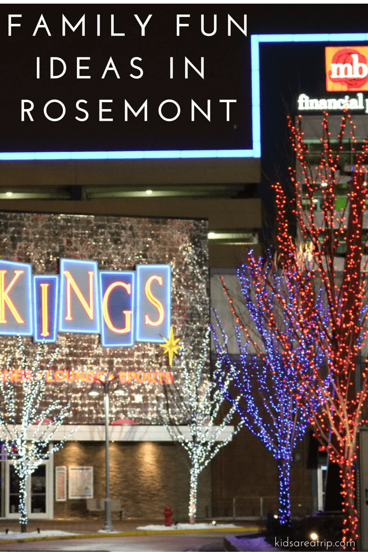 Family Fun Ideas in Rosemont near Chicago-Kids Are A Trip
