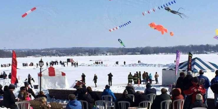 Winterfest in Lake Geneva, Wisconsin Sky Circus-Kids Are A Trip