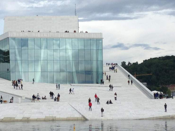Visit The Oslo Opera House with Kids-Kids Are A Trip