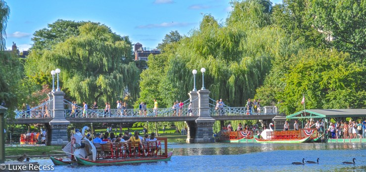 Top 5 Family Friendly Things in Boston Public Garden-Kids Are A Trip