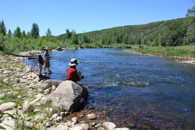 Heber Valley, Utah is the Perfect Year Round Destination for Fishing-Kids Are A Trip
