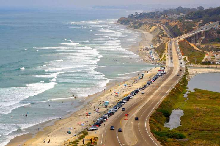 Best Family Beaches in San Diego Torrey Pines-Kids Are A Trip