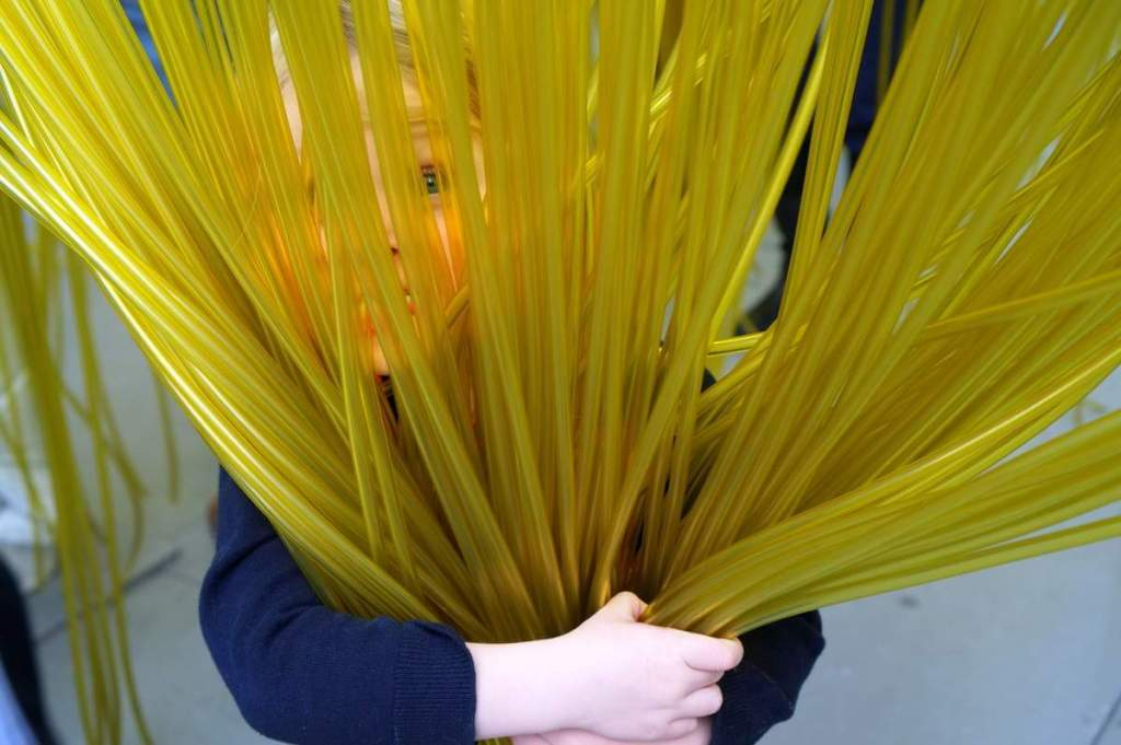 Family Friendly Things to do in Los Angeles Lacma spaghetti-Kids Are a Trip