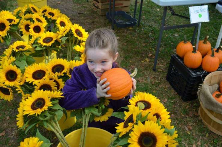 Family Friendly Things to Do in Newport, Rhode Island Aquidneck Growers Market-Kids Are A Trip