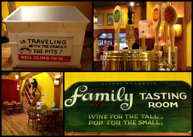 what to do in traverse city, michigan cherry-republic-kids are a trip