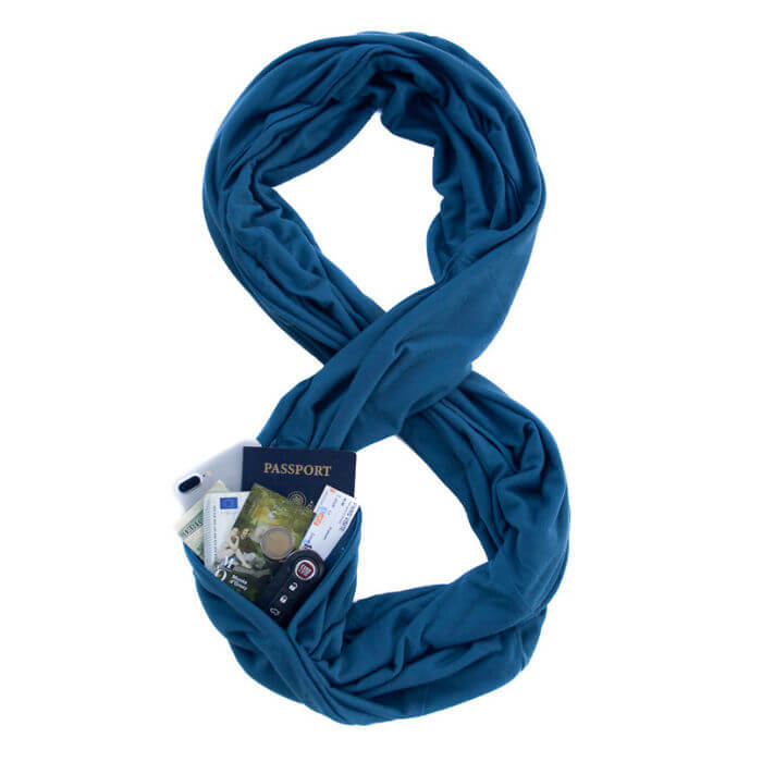 Infinity travel scarf-Kids Are a Trip