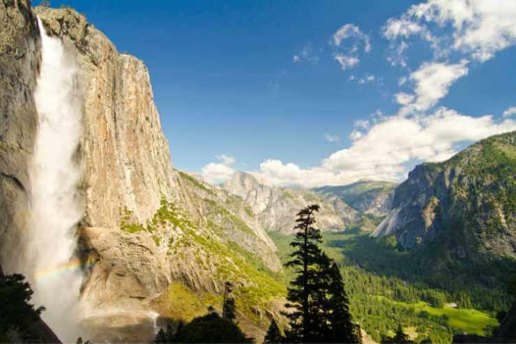 Yosemite waterfall-Kids are A Trip