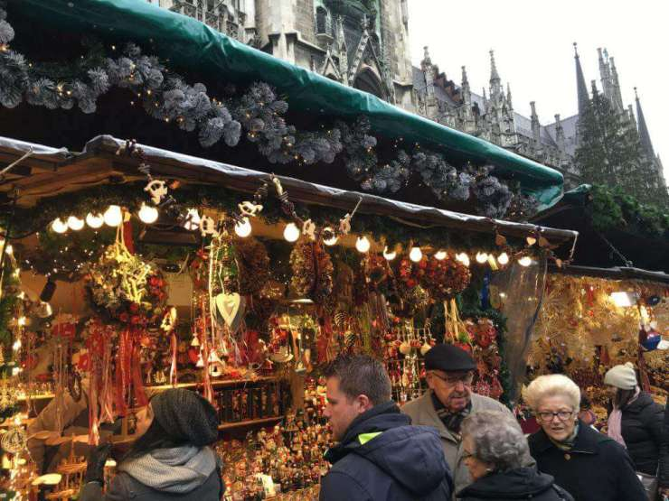 Christmas Markets in Germany Kids Munich Crowds-Kids Are A Trip