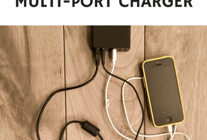 Busy families are constantly looking for easy ways to charge their technology, and the Anker multi-port charger might just solve their problems.