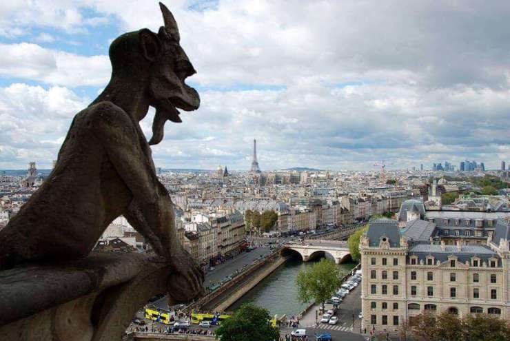 Best Family Hotels in Paris View from Notre Dame | Kids Are A Trip