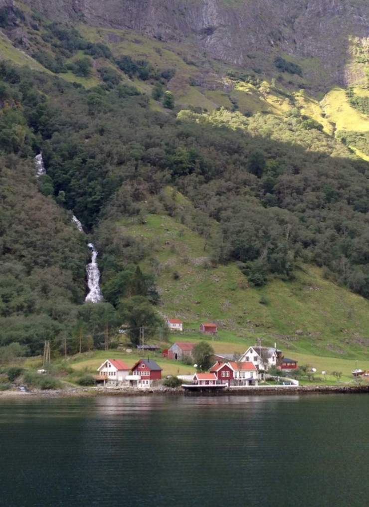 Travel Tips for Scandinavia and Baltics Village Fjord Norway-Kids Are A Trip
