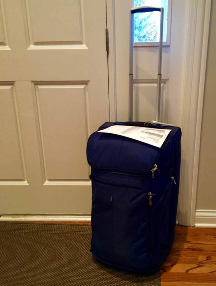 How to Travel Light with Luggage Free Pack in Advance - Kids Are A Trip