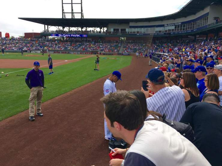 How to Enjoy Spring Training in Phoenix Autograph Tips - Kids Are A Trip