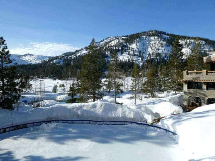 Resort at Squaw Creek is Lake Tahoe's Winter Wonderland Ice Skating - Kids Are A Trip