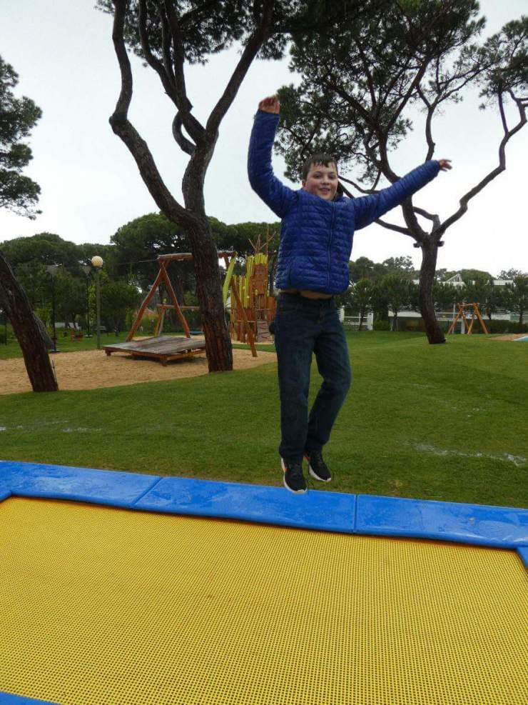 Martinhal Cascais Built In Trampoline Playground-Kids Are A Trip