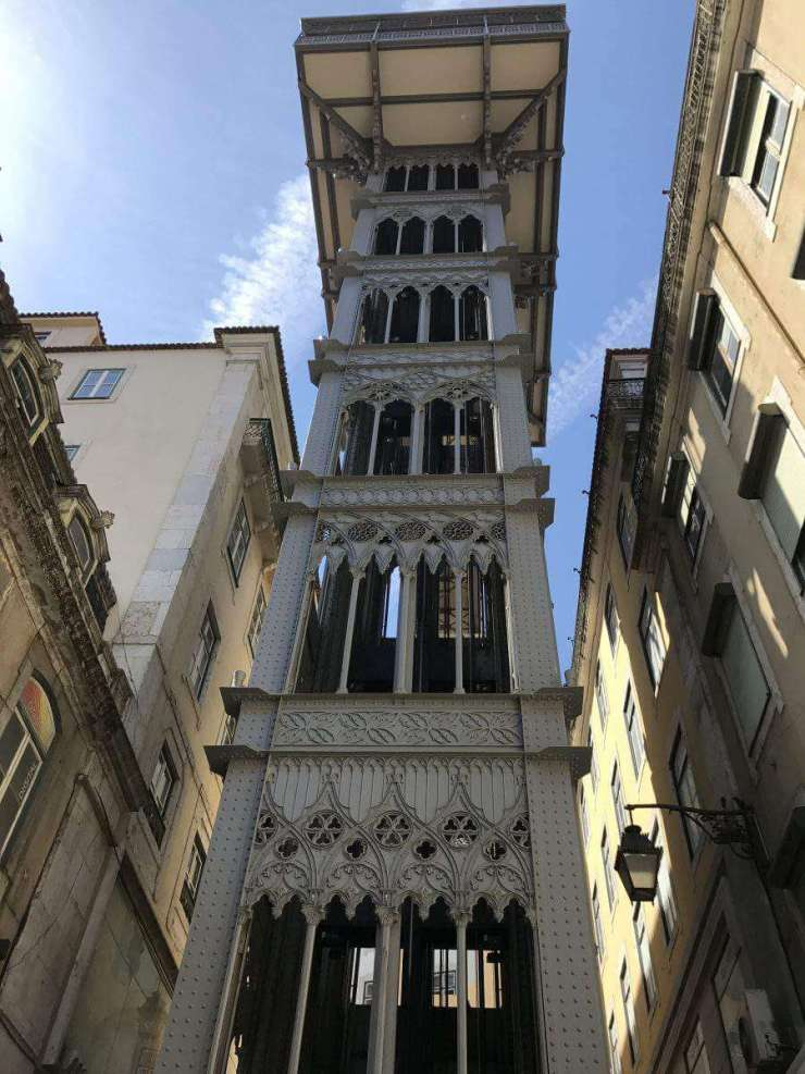 How to have the perfect weekend in Lisbon Santa Justa Elevator-Kids Are A Trip