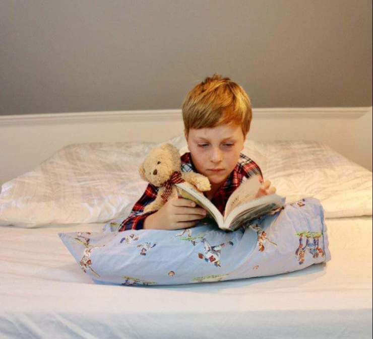 Kids love the Intex Airbed-Kids Are A Trip