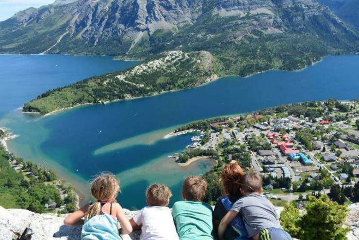 National Parks in Canada Waterton National Park-Kids Are A Trip