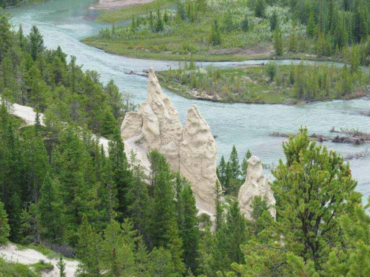 Hoodoo Rock Formations Family Friendly Things to Do in Jasper Alberta-Kids Are A Trip