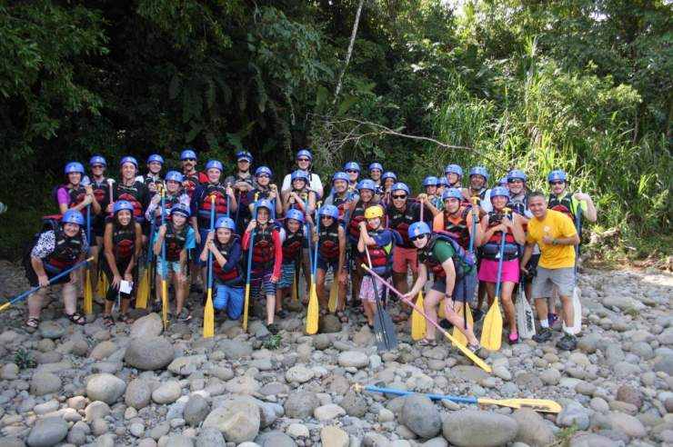 Adventures by Disney Costa Rica Vacation White Water Rafting-Kids Are A Trip