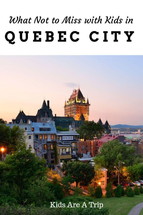If you're looking for the best things to do in Quebec City with kids, you won't be disappointed. This Canadian city offers European charm and fun outdoor activities year round. - Kids Are A Trip