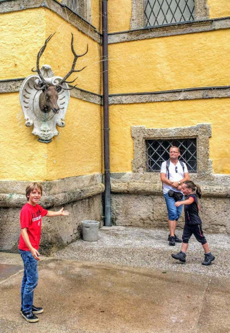 Best Family Friendly Things to Do in Salzburg Schloss Hellbrunn-Kids Are A Trip