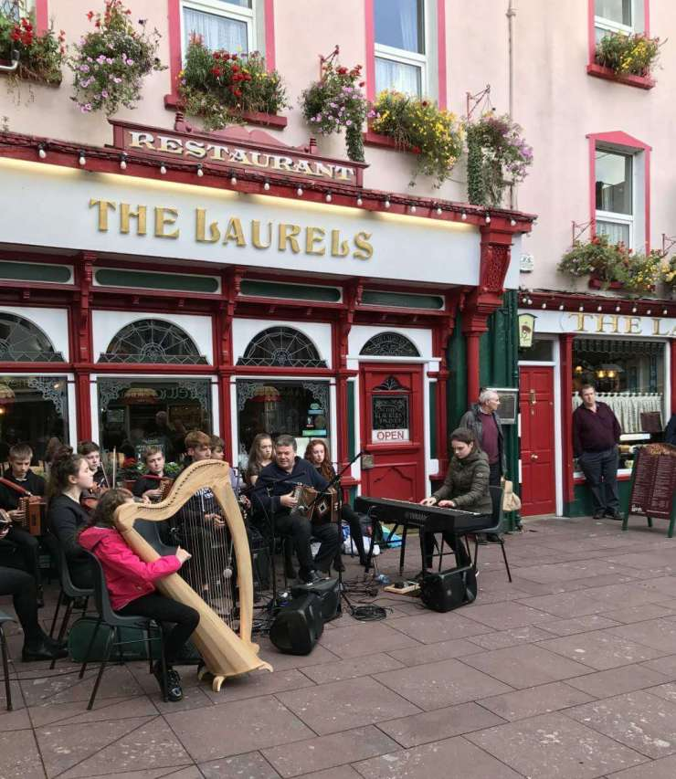 Travel with Kids to Ireland Enjoy the Music-Kids Are A Trip