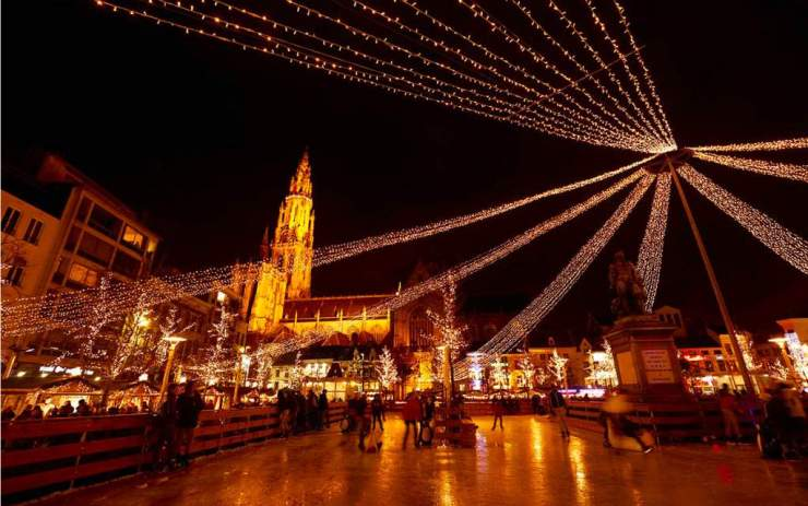 Best Christmas Markets in Belgium Antwerp - Kids Are A Trip