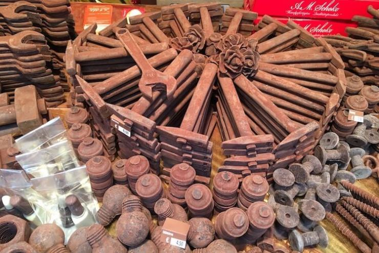 Chocolate Tools at the Tubingen Chocolate Christmas Market