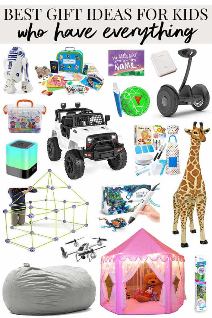 Unique Gifts for Kids Who Have Everything-Kids Are A Trip