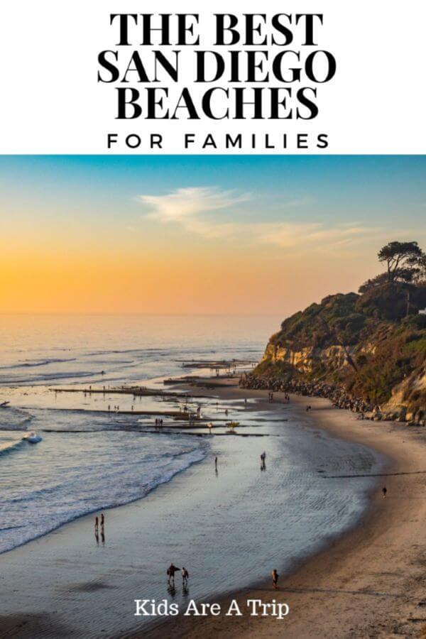 If you're looking for the best beaches in San Diego for families we are sharing our favorites. From active beaches to ones where you can simply relax, we have something for everyone. - Kids Are A Trip #beachvacation #sandiego #beaches #familytravel