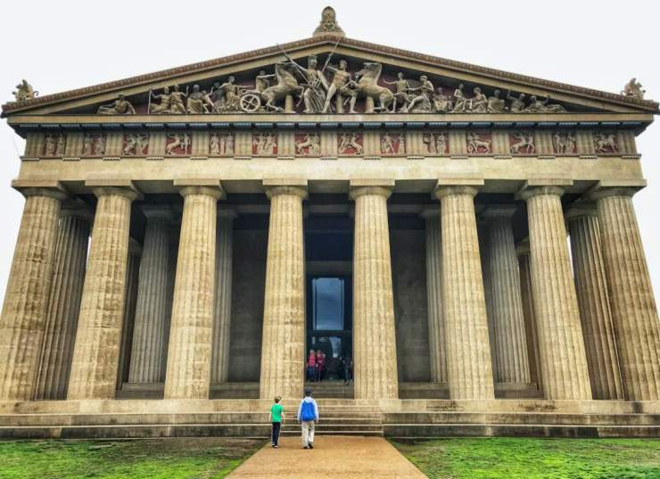 Fun Things to Do in Nashville with Kids Parthenon-Kids Are A Trip