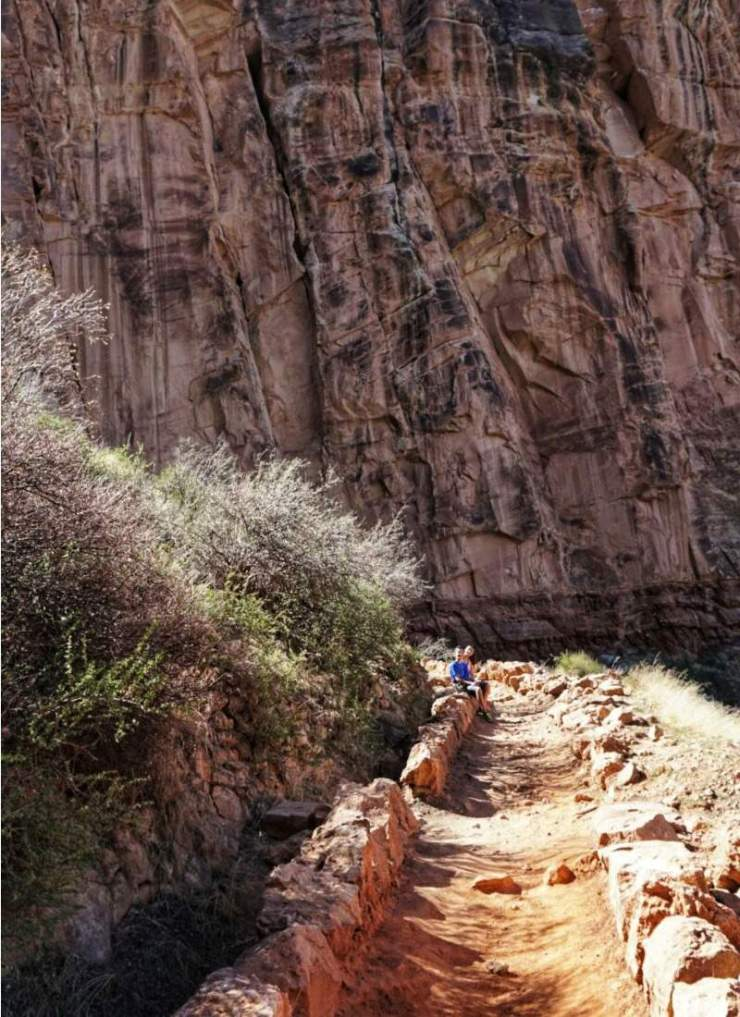 Things to Do in Northern Arizona with Teens Bright Angel Trail-Kids Are A Trip