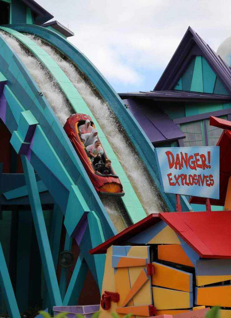Travel with Teens Universal Orlando Ripsaw Falls-Kids Are A Trip