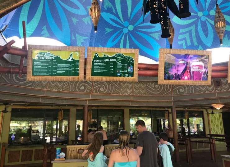 Volcano Bay Food Options-Kids Are A Trip