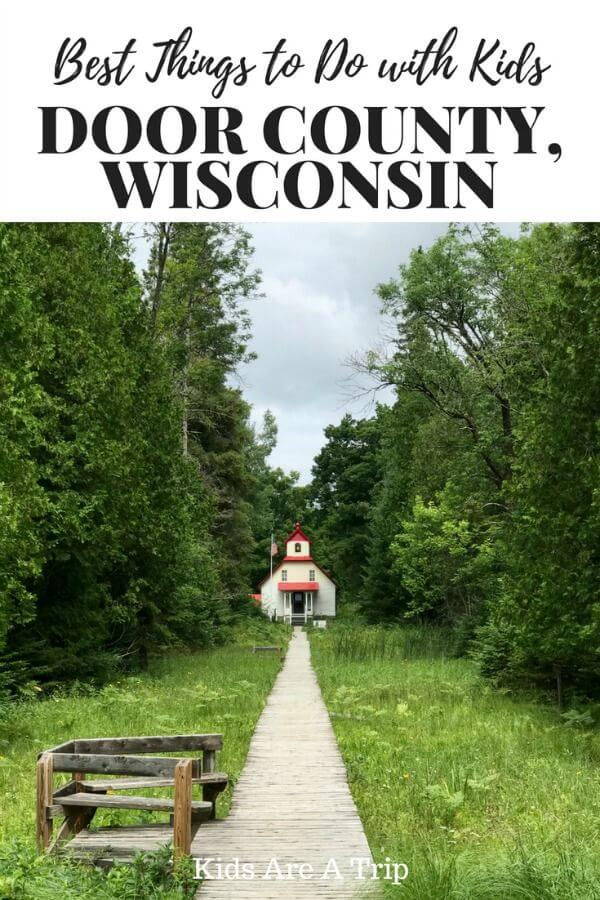 If you're looking for an idyllic family getaway, look no further than Door County, Wisconsin. With fresh fruit picking, outdoor adventures, and fabulous dining options, it's the perfect getaway. Here are our recommendations for the best things to do in Door County with kids. - Kids Are A Trip