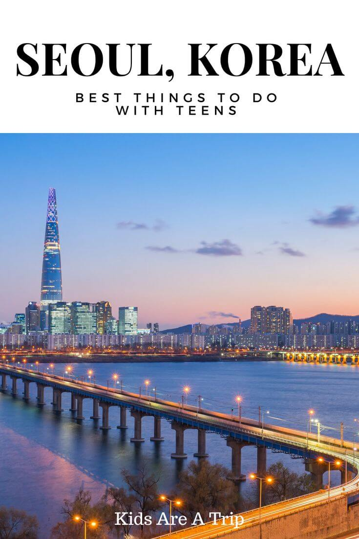 Seoul, Korea is fabulous for all ages, but check out these awesome things to do in Seoul with teens. - Kids Are A Trip